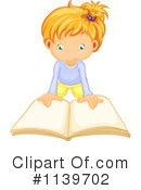 Royalty-Free (RF) Reading Clipart Illustration #1139702