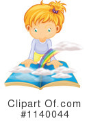Reading Clipart #1140044 by Graphics RF
