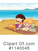 Reading Clipart #1140045 by Graphics RF