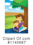 Reading Clipart #1140687 by Graphics RF