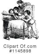 Reading Clipart #1145898 by Prawny Vintage