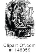 Reading Clipart #1146059 by Prawny Vintage