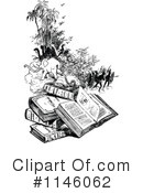 Reading Clipart #1146062 by Prawny Vintage