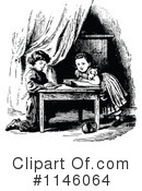 Reading Clipart #1146064 by Prawny Vintage