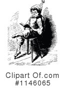 Reading Clipart #1146065 by Prawny Vintage