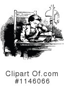 Reading Clipart #1146066 by Prawny Vintage