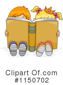Royalty-Free (RF) Reading Clipart Illustration #1150702