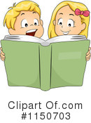 Reading Clipart #1150703 by BNP Design Studio