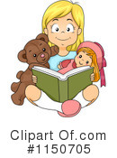 Reading Clipart #1150705 by BNP Design Studio