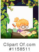 Reading Clipart #1158511 by Graphics RF