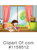 Reading Clipart #1158512 by Graphics RF