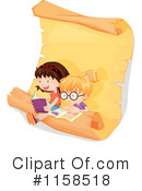 Reading Clipart #1158518 by Graphics RF