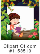Reading Clipart #1158519 by Graphics RF