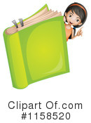 Reading Clipart #1158520 by Graphics RF