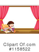 Reading Clipart #1158522 by Graphics RF
