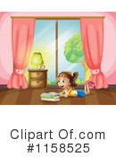 Reading Clipart #1158525 by Graphics RF