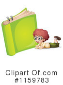 Reading Clipart #1159783 by Graphics RF