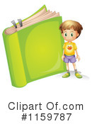 Reading Clipart #1159787 by Graphics RF