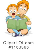 Reading Clipart #1163386 by BNP Design Studio