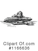 Reading Clipart #1166636 by Prawny Vintage