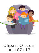 Reading Clipart #1182113 by BNP Design Studio