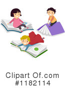 Reading Clipart #1182114 by BNP Design Studio