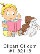 Reading Clipart #1182118 by BNP Design Studio