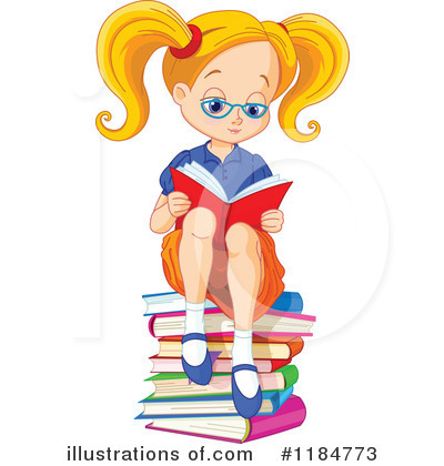 Reading Clipart #1184773 by Pushkin