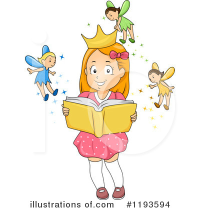 Royalty-Free (RF) Reading Clipart Illustration by BNP Design Studio - Stock Sample #1193594