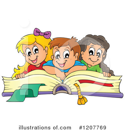 School Children Clipart #1207769 by visekart