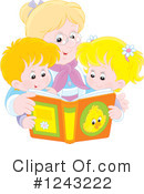 Reading Clipart #1243222 by Alex Bannykh