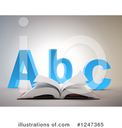 Book Clipart #1247365 by Mopic