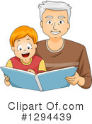 Reading Clipart #1294439 by BNP Design Studio