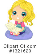 Reading Clipart #1321620 by BNP Design Studio