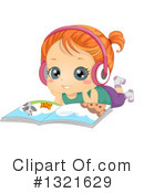 Reading Clipart #1321629 by BNP Design Studio