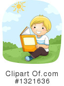 Reading Clipart #1321636 by BNP Design Studio