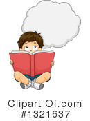 Reading Clipart #1321637 by BNP Design Studio