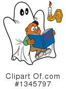 Reading Clipart #1345797 by LaffToon