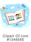 Reading Clipart #1346565 by BNP Design Studio