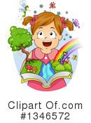 Reading Clipart #1346572 by BNP Design Studio