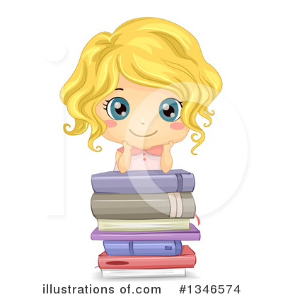 Girl Clipart #1346574 by BNP Design Studio