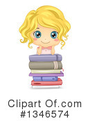 Royalty-Free (RF) Reading Clipart Illustration #1346574