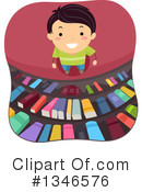 Reading Clipart #1346576 by BNP Design Studio