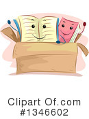 Reading Clipart #1346602 by BNP Design Studio