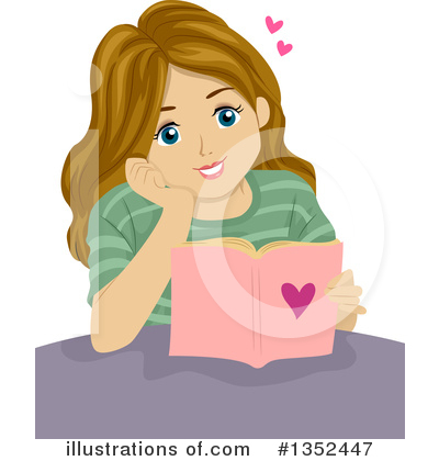 Teen Girl Clipart #1352447 by BNP Design Studio