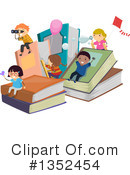 Reading Clipart #1352454 by BNP Design Studio