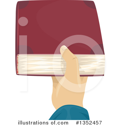 Royalty-Free (RF) Reading Clipart Illustration by BNP Design Studio - Stock Sample #1352457