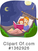 Reading Clipart #1362926 by BNP Design Studio