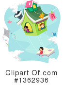 Reading Clipart #1362936 by BNP Design Studio