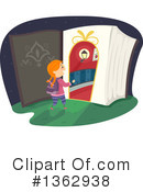Reading Clipart #1362938 by BNP Design Studio